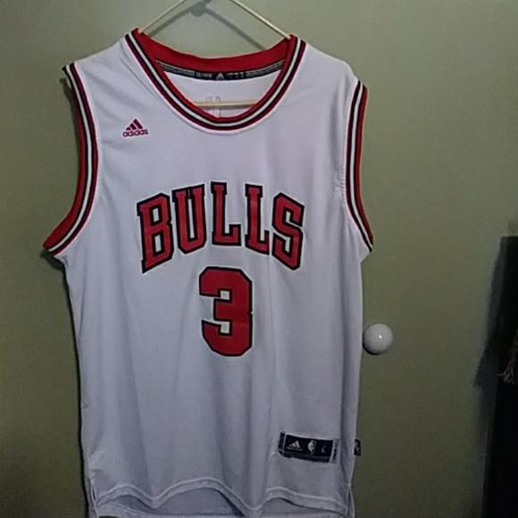 buy popular 0bccb 29b32 Adidas Dwyane Wade Bulls Jersey